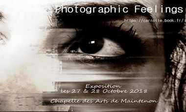 Visueel van project EXPO PHOTOGRAPHIC FEELINGS CARROLLE