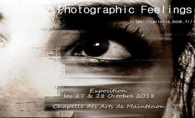 Visuel du projet EXPO PHOTOGRAPHIC FEELINGS CARROLLE
