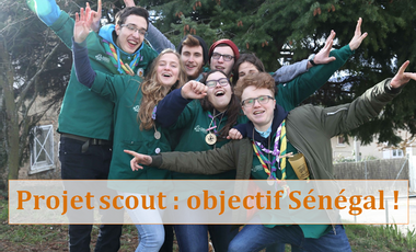 Project visual Solidarité internationale : les scouts Destination Sénégal !