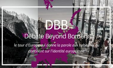 Visuel du projet Europe Beyond Borders : le tour d'Europe sur l'identité européenne