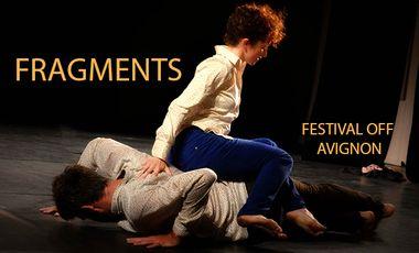 Visueel van project FRAGMENTS au Festival OFF d'Avignon