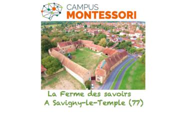 Visueel van project Campus Montessori Savigny le Temple