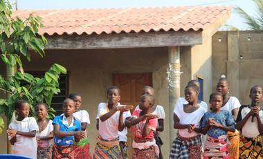 Visueel van project Sport pour les enfants du Togo
