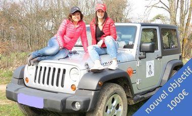 Project visual Les Jeep'zelles Rallye Aïcha des Gazelles du 15 au 30 mars 2019