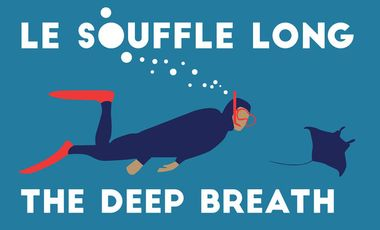 Project visual The deep breath / Le souffle long : a film about free divers and manta rays