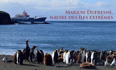 Project visual Marion Dufresne, navire des îles extrêmes