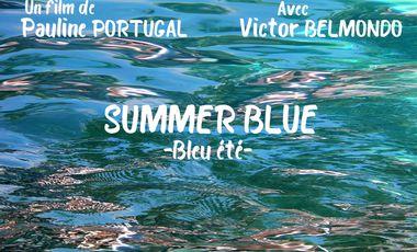 Project visual Summer Blue - Bleu été
