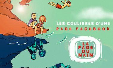 Visuel du projet Création de la BD Les coulisses d'une page FB : La page du Nain