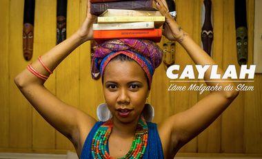 Visuel du projet Caylah, l'âme Malgache du slam .... En tournée !