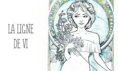 Visueel van project La ligne de Vi - les débuts d'une tatoueuse