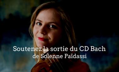 Visueel van project Soutenez la sortie du nouveau CD de Solenne Païdassi