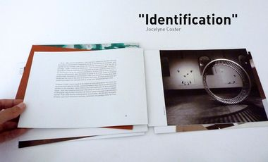 "Visueel van project Jocelyne Coster ""Identification"""
