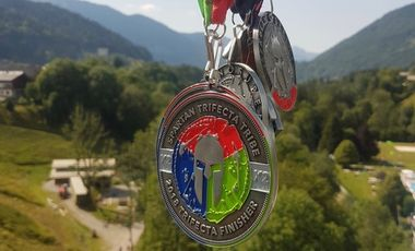 Project visual Spartan race trifecta World Championship