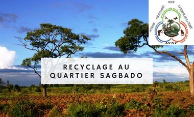 Project visual Recyclage au quartier Sagbado