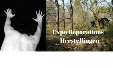 "Project visual Exposition ""Réparations"" - ""Herstellingen"""