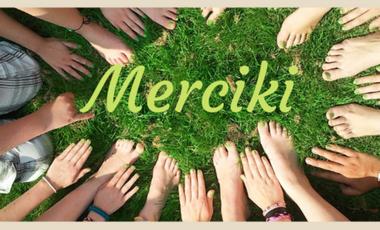 Visuel du projet Merciki, le réseau d'entraide