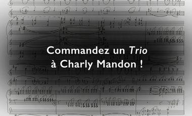 Project visual Commandez un Trio à Charly Mandon !