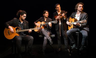 Visueel van project Gala Swing Quartet, Nouvel Album: Notes Noires