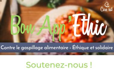 Visueel van project Bon App'Ethic, l'appli éco-responsable et solidaire
