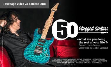 Project visual Renaud Louis-Servais dirige 50 guitaristes sur une œuvre de Michel Legrand !