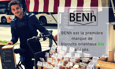 Project visual BENh, biscuits orientaux allégés.