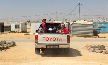 Visueel van project Taxi Pour Zaa'tari