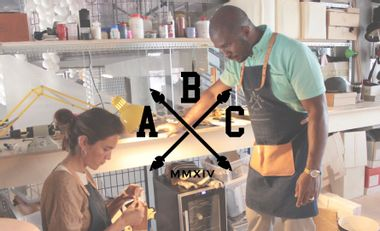 """Project visual LE TABLIER ABC """"MADE IN PARIS"""""""