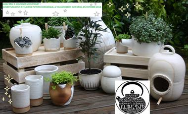 Project visual Ouverture d'un atelier de poterie- céramique