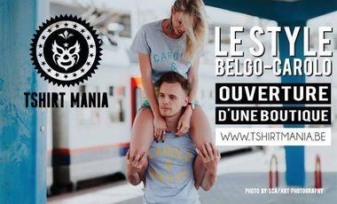 Visueel van project Ouverture de la boutique Tshirt Mania: jeune, original et local !