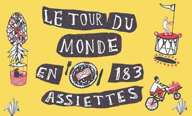Visueel van project Embarquement pour un nouveau Tour du Monde en 183 assiettes!