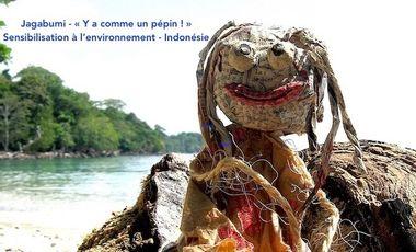 Project visual Grande campagne de sensibilisation à l'environnement à travers l'Indonésie