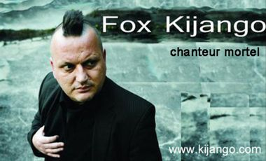 Visuel du projet Fox Kijango, chanteur mortel