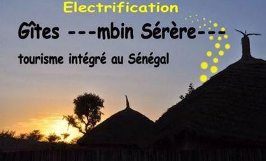 Project visual Aidez-nous : Electricité aux gîtes ---Mbin Sérère---