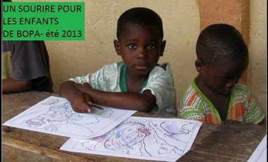 Project visual un sourire pour les enfants de Bopa