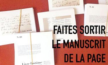 Visuel du projet Soutenez le Livre Fantôme - Un manuscrit Instagram de Olivier Jacquemond