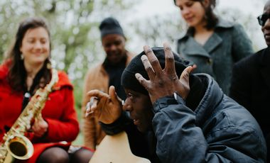 Visuel du projet Le 13ème son, musique en exil