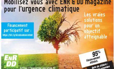 Visuel du projet Mobilisez vous avec ENR & DD Magazine pour l'urgence climatique