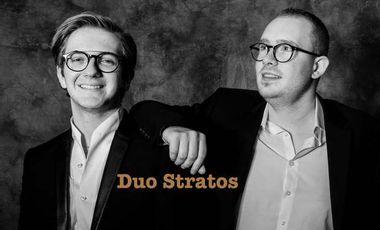 Visueel van project 1er album du Duo Stratos