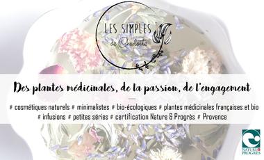 Visuel du projet Cosmétiques minimalistes avec des plantes médicinales 100% françaises et bio !