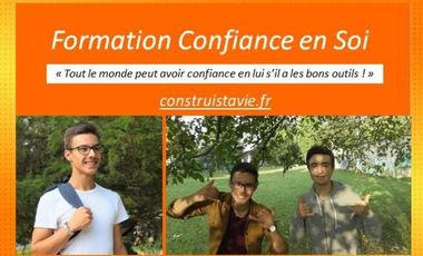 Project visual Création de Formation sur la Confiance en Soi