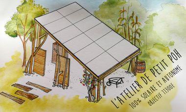 Visueel van project Petit Poh atelier 100% autonome et solaire