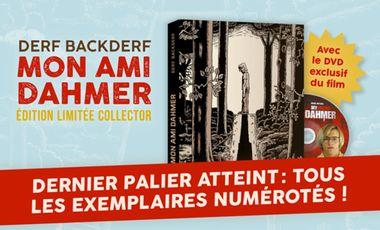 """Visueel van project """"Mon ami Dahmer"""" édition collector"""