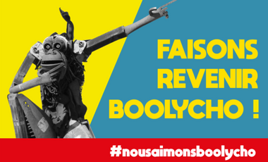 Visueel van project Faisons revenir Boolycho !