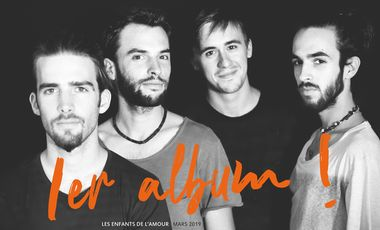 Visueel van project Les Enfants de l'Amour / Premier album de Minuit 10 !