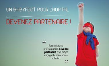 Visueel van project Un babyfoot pour l'hôpital