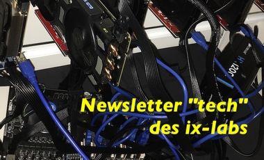 """Visueel van project Newsletter """"tech"""" des ix-labs"""