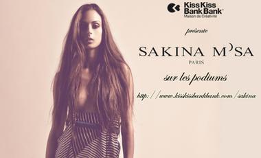 Project visual Sakina M'Sa sur les podiums