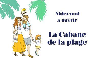 Visueel van project La cabane de la plage | T-shirt et accessoires 100% Côte d'Azur