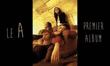 Visuel du projet Le A - Premier album