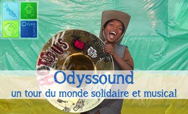 Project visual Odyssound, un tour du monde solidaire et musical !
